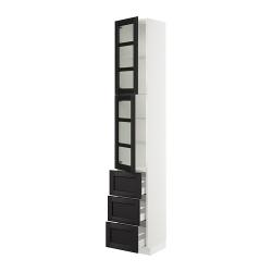 SEKTION Arm alto+2 puertas vidrio/3cajones