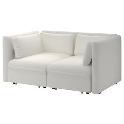 VALLENTUNA Sofá modular 2 plazas+2 sofás cama