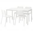 MELLTORP/TEODORES Mesa con 4 sillas