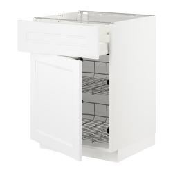 METOD Armario bajo cocina cajón y cestos