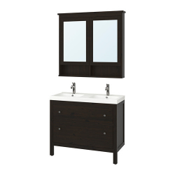 HEMNES/ODENSVIK Muebles de baño j5