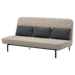 NYHAMN Sofá cama con 3 cojines