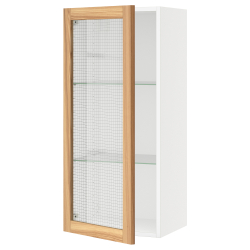 SEKTION Wall cabinet with glass door