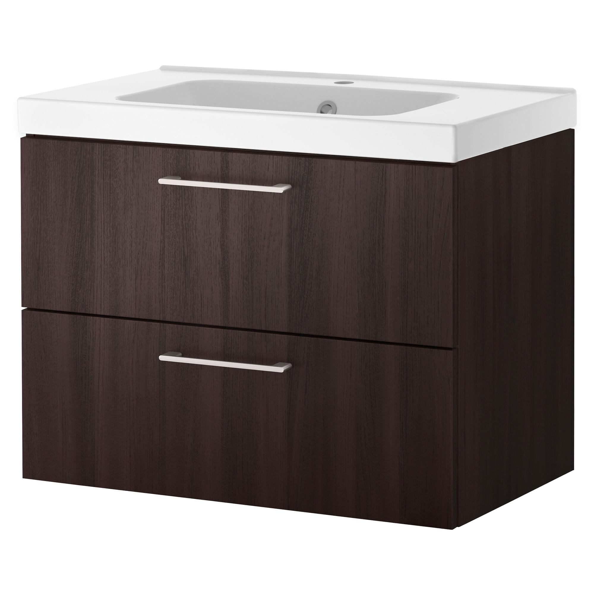 Godmorgon odensvik armario lavabo 2 cajones 60cm - Armario lavabo ikea ...