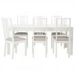 BJURSTA Mesa con 6 sillas