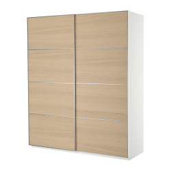 PAX Wardrobe with sliding doors