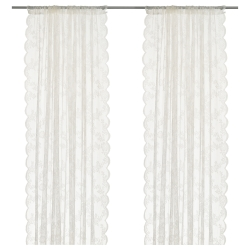ALVINE SPETS Par de cortinas