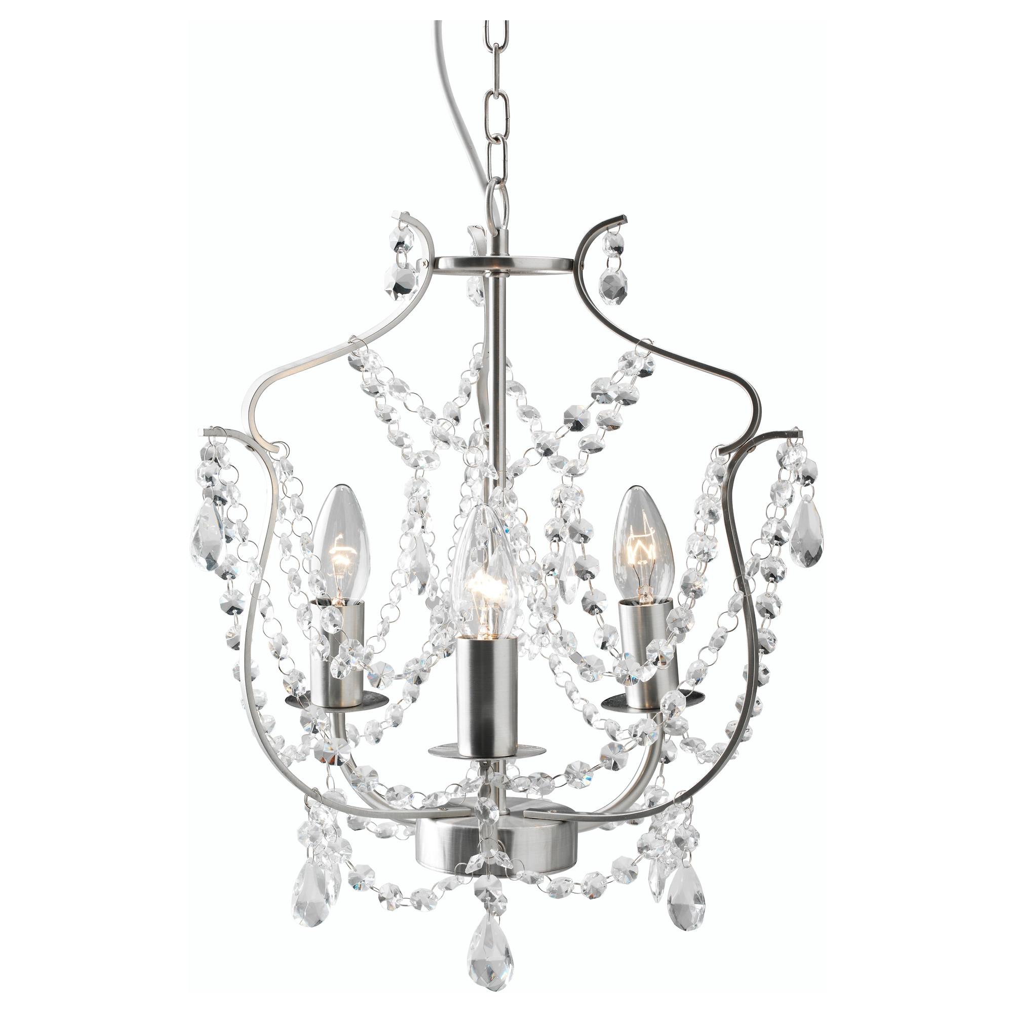 KRISTALLER chandelier, 3-armed