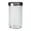 DROPPAR Recipiente vidrio con tapa, 0.9lt
