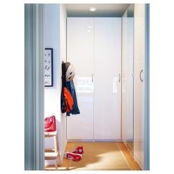 1 x FARDAL Puerta 50x229cm, blanco alto brillo