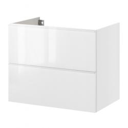 GODMORGON Armario lavabo 2 cajones 60 blanco