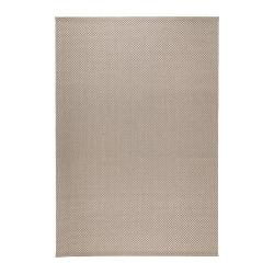 MORUM Alfombra, lisa 200x300 beige