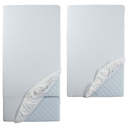 LEN Fitted sheet, set of 2