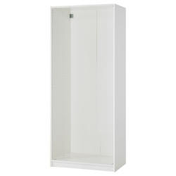 2 x PAX Estructura armario  blanco