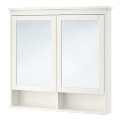 HEMNES Mirror cabinet with 2 doors