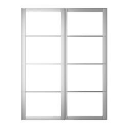 1 x PAX AULI Riel para puertas corredizas