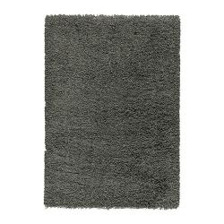 GÅSER Alfombra, pelo largo 170x240 gris osc
