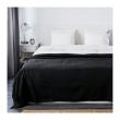 INDIRA Colcha cama doble negro
