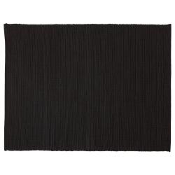 MÄRIT Mantel individual, negro