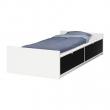FLAXA Estructura cama 90 + almacenaje