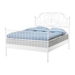 1 x LEIRVIK Cabecero/pies para cama 140