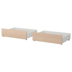 MALM Caja almacenaje para cama Twin/Full