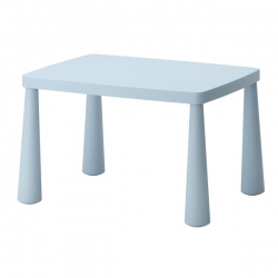 MAMMUT Mesa para niños azul claro