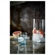 MUSTIG Vaso de vidrio azul, 23cl