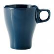 FÄRGRIK Taza de cerámica turquesa oscuro, 8.5 oz