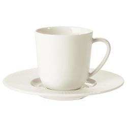 OFANTLIGT Taza/plato espresso