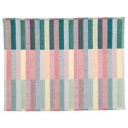 MITTBIT Mantel individual, rosa/turquesa/verde