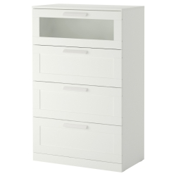 BRIMNES Chest of 4 drawers