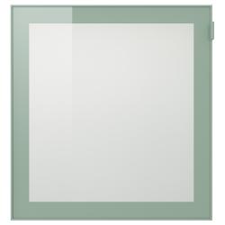 3 x GLASSVIK Puerta de vidrio