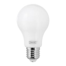 LEDARE Bombilla LED E27 600 lúmenes globo ópalo blanco