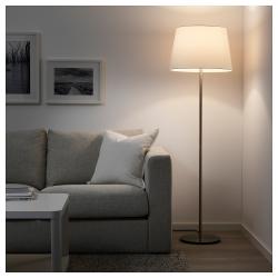 SKAFTET Base para lámpara de pie niquelado E27