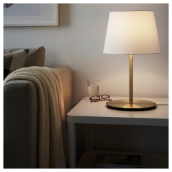 SKAFTET Pie para lámpara de mesa bronce E27