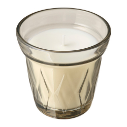 VÄLDOFT Vela aromática en vaso flor de saúco