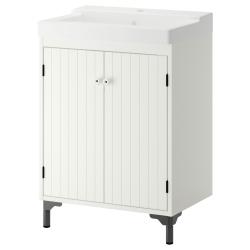 SILVERÅN Clóset para lavamanos+2 puertas