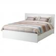 MALM Full bed + tablillas Luröy + 4 caj