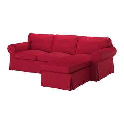 EKTORP Sofá de 2 plazas y chaise longue