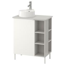 LILLÅNGEN/VISKAN/GUTVIKEN Arm lavamanos/1puerta/2mód term