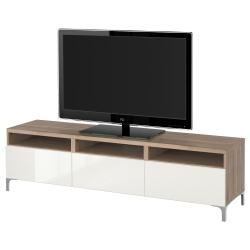 BESTÅ Banco para TV con gavetas