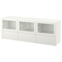 BESTÅ Banco TV+puertas y gavetas