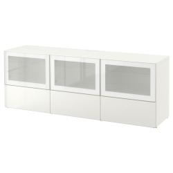 BESTÅ Banco TV+puertas y cajones