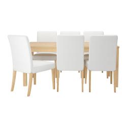 BJURSTA Mesa y 6 sillas