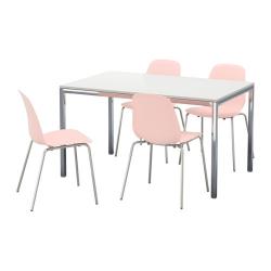 TORSBY/LEIFARNE Mesa con 4 sillas