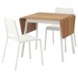 IKEA PS 2012/TEODORES Mesa y dos sillas
