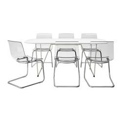 OPPEBY/BACKARYD/TOBIAS Mesa y 6 sillas