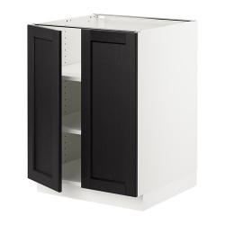 SEKTION Armario bajo+estantes/2 puertas