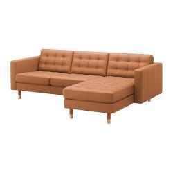 LANDSKRONA Sofá 3 plazas con diván